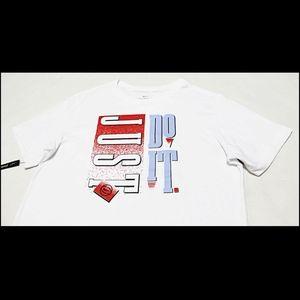 NWT NIKE Men's Retro Cotton Dri-Fit Tee T-Shirt